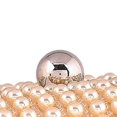 sac femme Perles de Mode soirée d'Imitation Champagne wH58IqdB