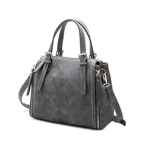 Hundred Hongge Leather Shoulder Cattle Bag Bucket Bag Bag Scrub Messenger Single Bag Fashion C Women ZPwRZq