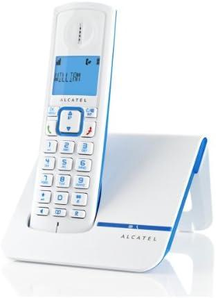 Alcatel Versatis F230 - Teléfono fijo digital inalámbrico, azul [Importado]: Amazon.es: Electrónica