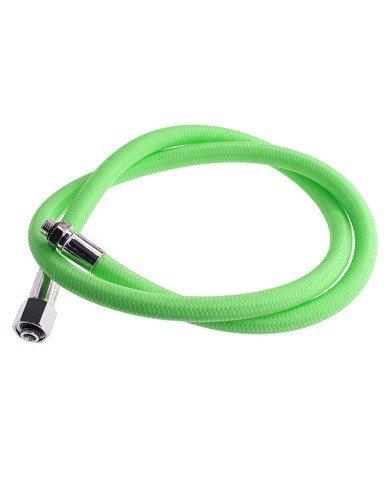 New 30 Inch Low Pressure Braided Scuba Diving Regulator Hose (Green-MaxFlex)