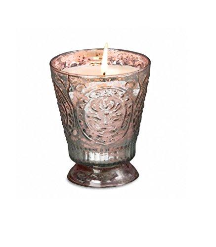 Himalayan Candles Fleur de Lys Soy Candle Tumbler, Peony, 8-Ounce
