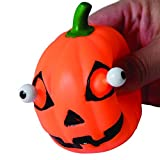 Squeeze Popping Eye Halloween Jack O Lantern Pumpkin Stress Ball Toys (12)