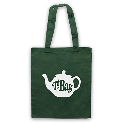 T-Bag 80's Kids TV Show Logo Bolso Verde Oscuro