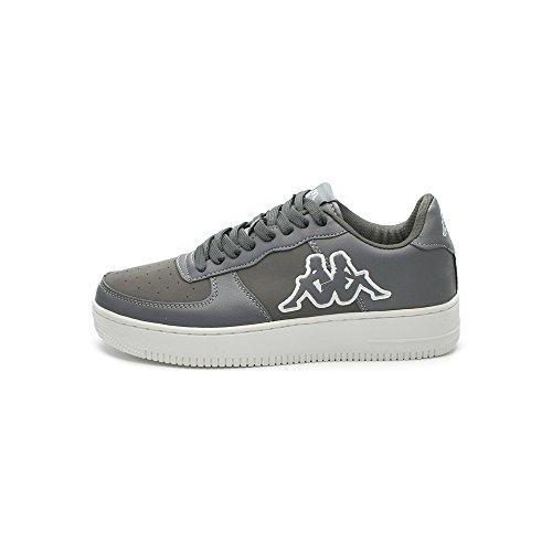 Kappa Scarpe Unisex Caserta Footwear 3025WK0 (37 - A54 Dk Grey-White)