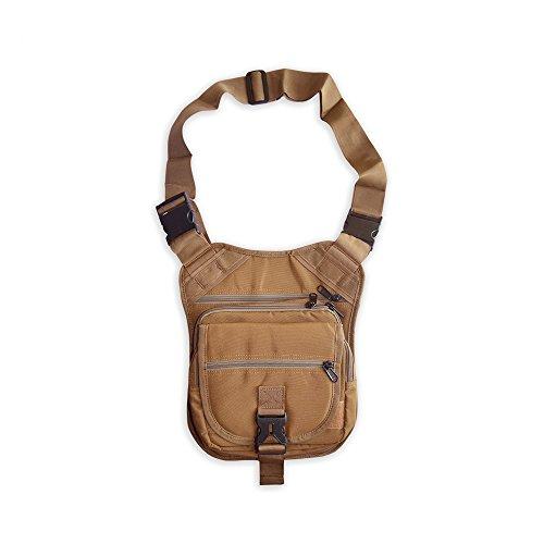 The Ranger Bag Concealed-Carry Shoulder Bag (Tan, Right-Handed) by Ranger Supply Room