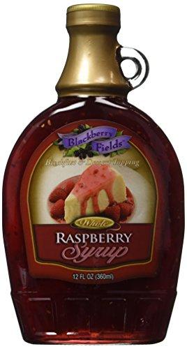 - Blackberry Fields Whole Raspberry Syrup 12oz Jar