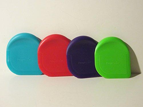 (Progressive International Colored Pan Scraper, 1 Piece, Color May Vary )
