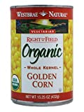 Westbrae Natural: Organic Whole Kernel Golden Corn (6 X 15.25 Oz)