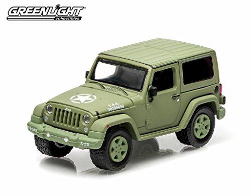 1/64 2014 Jeep Wrangler U.S. Army Hard Top(ライトグリーン) 29801