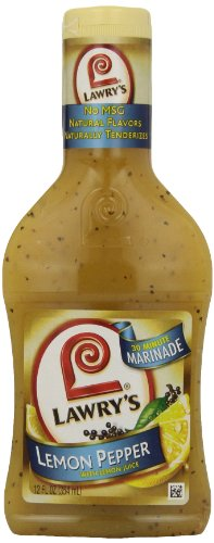 Lawry's Marinade, Lemon Pepper, 12 - Fry Chicken Stir Lemon