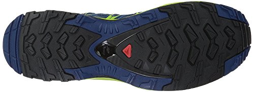 Salomon Mens XA Pro 3D Trail Running Shoes Poseidon/Lime Green/Black ESpCtBGbEO