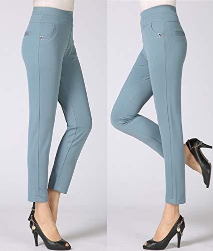 Et Taille Décontracté Haute 4 Découpée Femme Pantalon Pour Xfentech qYHwIxP