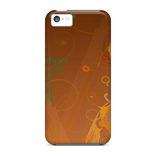 New Ubuntu Desmond Tutu Skin Case Cover Shatterproof Case For Iphone 5c
