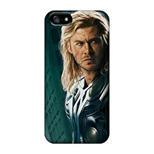 YjTtCkH1446BJotA BrianWesley Awesome Case Cover Compatible With Iphone 5/5s - Thor And Captain America The The Avengers