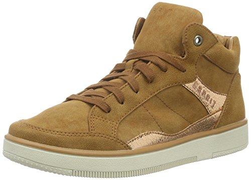 Desire Hi Brown Top ESPRIT 235 Sneakers Bootie Caramel Women's UFngCw4Sq