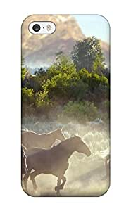 Iphone High Quality Tpu Case/ Horse SMHycqJ12773czQdh Case Cover For Iphone 5/5s