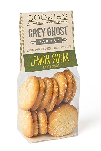 Grey Ghost Bakery Cookies, Lemon/Sugar, 8