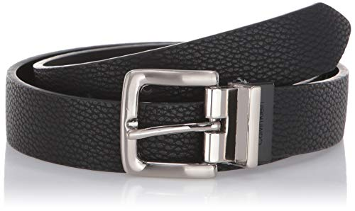 [해외]Calvin Klein Men`s Reversible Pebble Dress Belt / Calvin Klein Men`s Reversible Pebble Dress Belt, Black, 30
