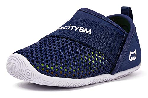 Baby Sneakers Girls Boys Mesh First Walkers Shoes 6 9 12 18 24 Months Navy Size 12-18 Months Infant