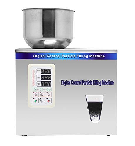 Automatic Powder - Hanchen Powder Filling Machine 1-50g Particle Weighing Filling Machine Automatic 110v Powder Filler for Tea Seeds Grains Powder