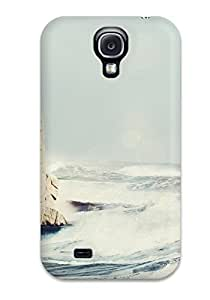 Case Cover Beautiful Lighthouse/ Fashionable Case For Galaxy S4