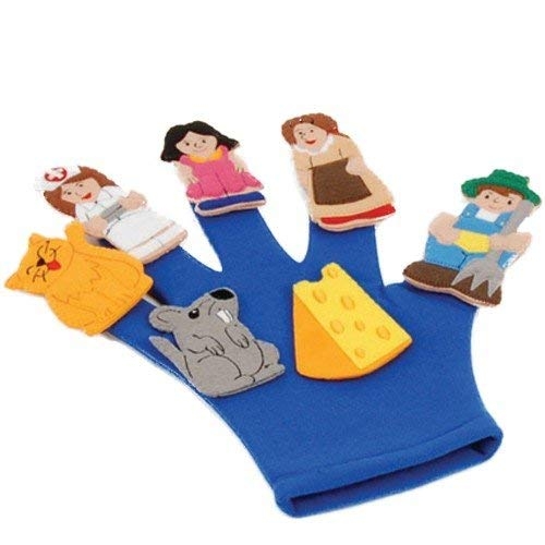 - Tell-A-Story Glove (Shown with Farmer in The Dell Finger Puppet Set - Not Included)