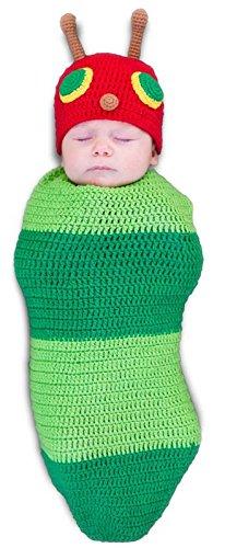 Casey the Caterpillar Baby Infant Costume - Newborn (Caterpillar Costumes Alice In Wonderland)