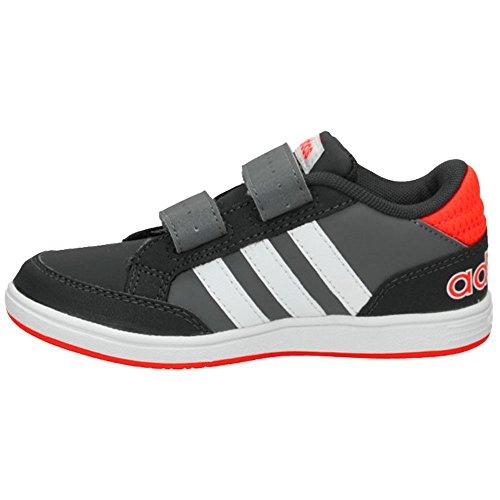 Adidas - Hoops Cmf C - AQ1656 - Farbe: Weiß-Grau-Orangefarbig - Größe: 28.0 THB9Wne