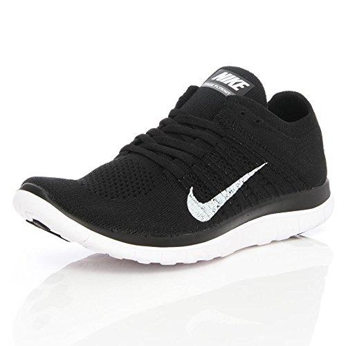 Nike Free 4.0 Flyknit - Zapatillas para hombre Negro/Blanco