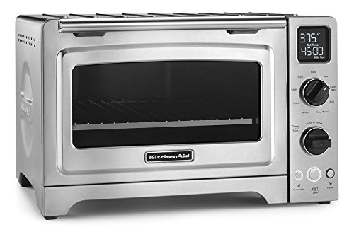 KitchenAid Convection Digital Countertop Oven, Stainless Steel (Renewed)