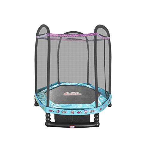 L.O.L. Surprise! 7′ Enclosed Trampoline with Safety Net Now $66.74 (Was $215.99)