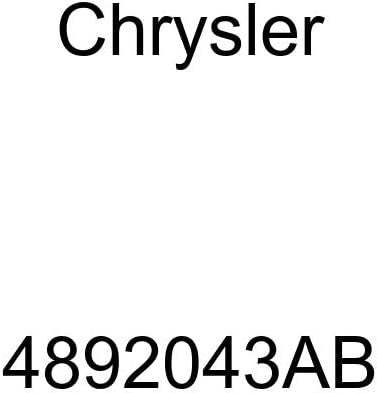 Genuine Chrysler 4892043AB Engine Cylinder Head Cover