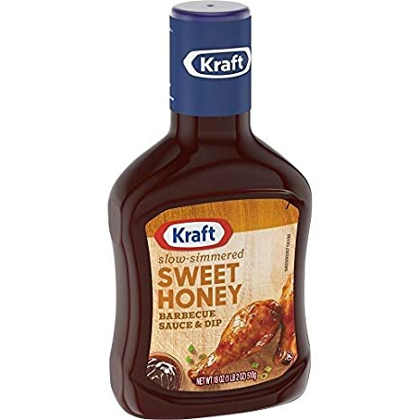 Kraft Sweet Honey Slow Simmered Barbecue Sauce (18 oz Bottle)