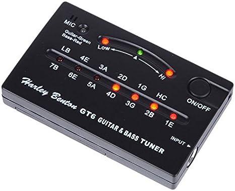 Incluye afinador para guitarra y bajo harley GT6: Amazon.es ...