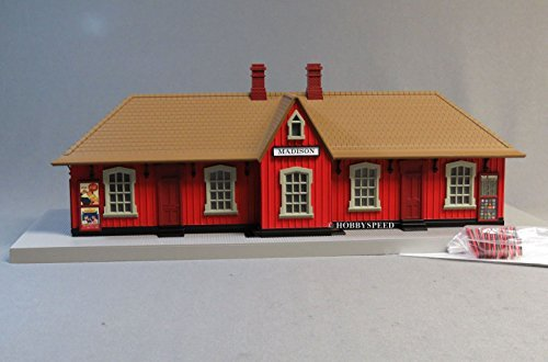 MTH RAIL KING MADISON COUNTRY PASSENGER TRAIN STATION, used for sale  Delivered anywhere in USA