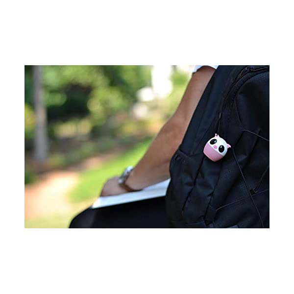 TBS2520 Mini Enceinte Bluetooth sans Fil - Mini Animal Cochon - Super Mignon & Puissante - 3 Watts - Kit Main-Libre Téléphone & Selfie - Appli pour Jouer - pour iPhone Samsung Huawei etc & Tablette 3