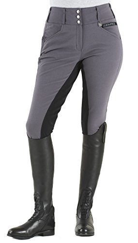 Romfh Ladies Champion FS Breech 28L Anthracite (Best Breeches For Curves)