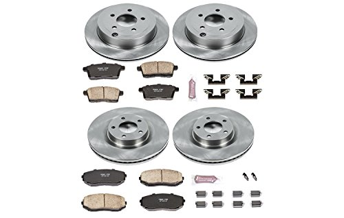 Autospecialty (KOE2829) 1-Click OE Replacement Brake Kit by Power Stop