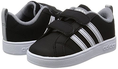 Adidas VS ADVANTAGE CMF INF–Sneaker deportivaspara Kinder, schwarz–(negbas/Ftwbla/grau), 22