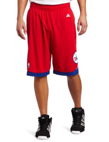 NBA Men's Philadelphia 76ers Swingman Short (Red, Small)