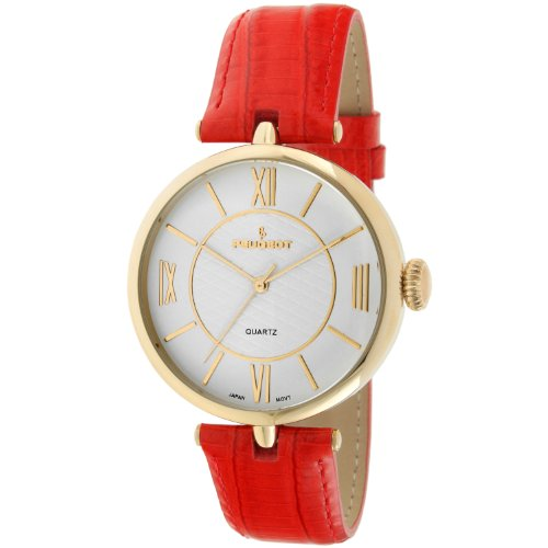 Peugeot Women's 3033RD Analog Display Japanese Quartz Red Watch