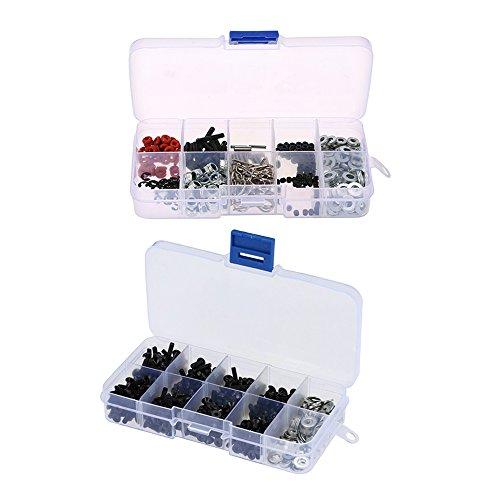 D90 Kit (Baoblaze Repair Tool Screw Box Kit for 1/10 HSP RC4WD Axial SCX10 D90 HPI Accessory)