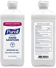 Purell Advanced Instant Gel Hand Sanitizer, Flip Top Bottle, 16 Oz, 70% Alcohol (Case of 12)