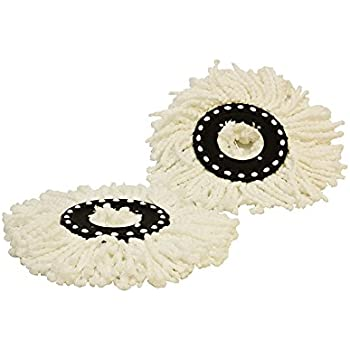 Amazon Com Cyclomop 174 Replacement Spinning Spin Mop Heads