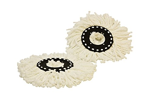 CycloMop® Replacement Spinning Spin Mop Heads 2 Pack by CYCLOMOP (Image #1)