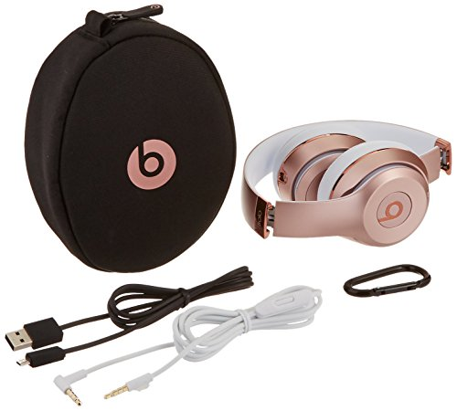 Beats Solo3 Wireless On-Ear Headphones - Rose Gold - Earbuds Shop