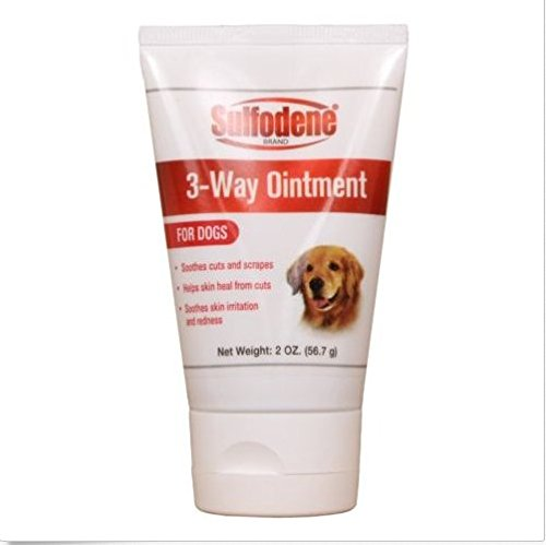 (Farnam Sulfodene 3-Way Ointment for Dogs Prevent Infection Pain Relief Aids 2oz)