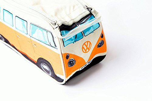 4dafad71dd48 VW Volkswagen T1 Camper Van Toiletry Wash Bag - Orange - Multiple Color  Options Available