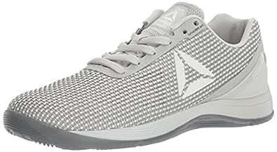 Reebok Women's Crossfit Nano 7.0 Cross-Trainer Shoe, White/Skull Grey/Black, 5.5 M US