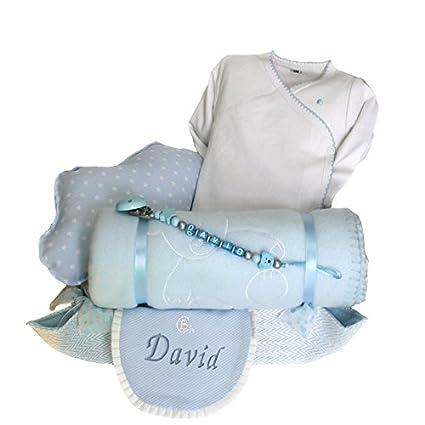 Canastillas para bebé recién nacido - Cuki nube azul - Mil Cestas ...